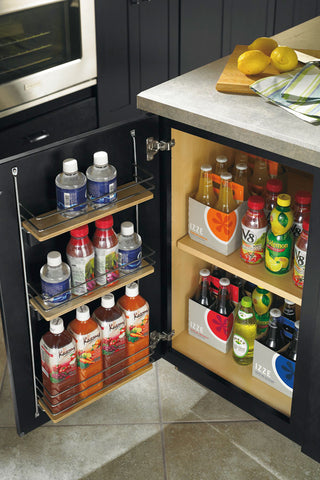 mini pantry, base pantry storage