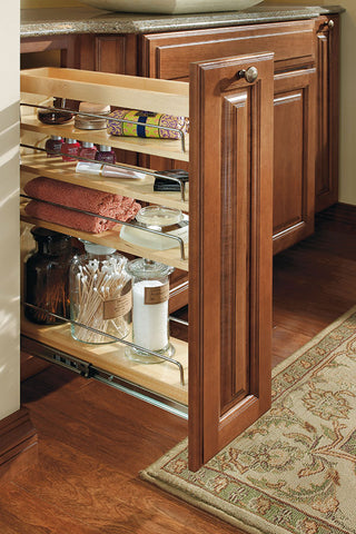 vanity pull out pantry