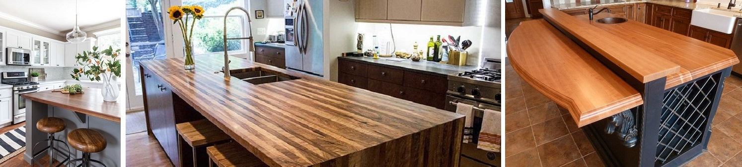 Wood Countertops, benefits and disadvantages