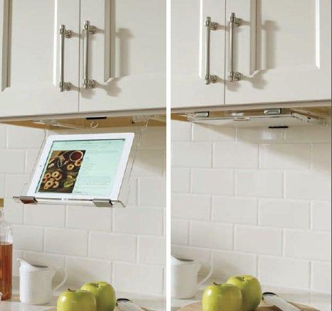 Masterbrand Cabinets Tablet Holder for Under Cabinets