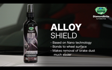 Load image into Gallery viewer, AIMEX AUTOMOTIVE ALLOY SHIELD WHEEL PROTECTOR CLEANER - NANO TECHNOLOGY - PROTECTIVE COATING - PREMIUM QUALITY CAR CARE - 250 ML - MADE IN UK