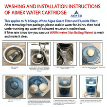 Load image into Gallery viewer, AIMEX 8 STAGE WATER FILTER CARTRIDGES X 4