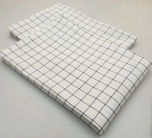 Striped & Checkered Tea Towel