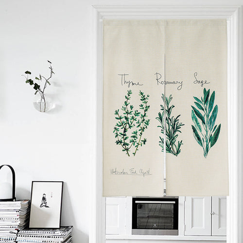 Plant Door Curtains