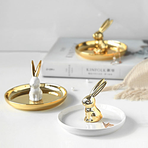 Bunny Decorative Tray