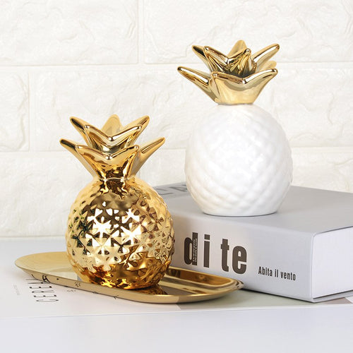 Ceramic Pineapple Storage Box