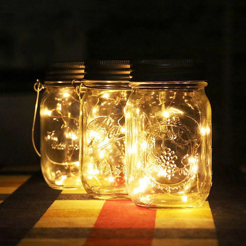 Fairy Light Mason Jar