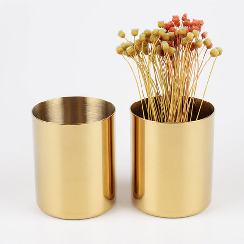 Gold Pencil Holders