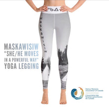 Load image into Gallery viewer, Maskawisiw Yoga Legging