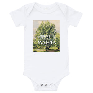 AWE-Mommy's Little Wahta Onesie