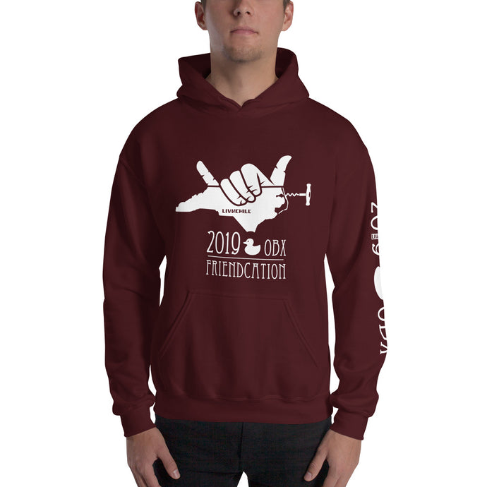 2019 OBX friendcation chill hoodie 🤙🏼 mens
