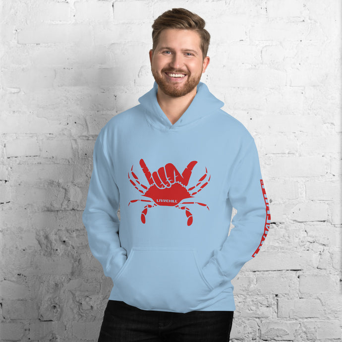 chesapeake bay red righteous hoodie 🤙🏼 unisex