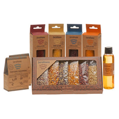 Gift Box, Cobs, Oil + 2 Seasoning Boxes