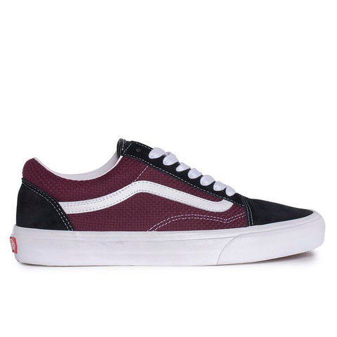 TÊNIS VANS OLD SKOOL - BLACK/PORT