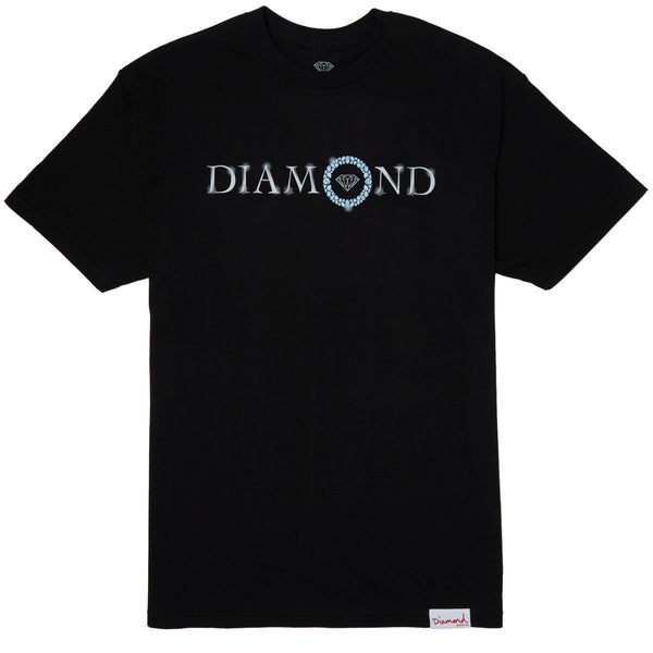 CAMISETA DIAMOND PENDANT BLACK