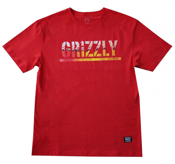 Camiseta Grizzly Brew - Red