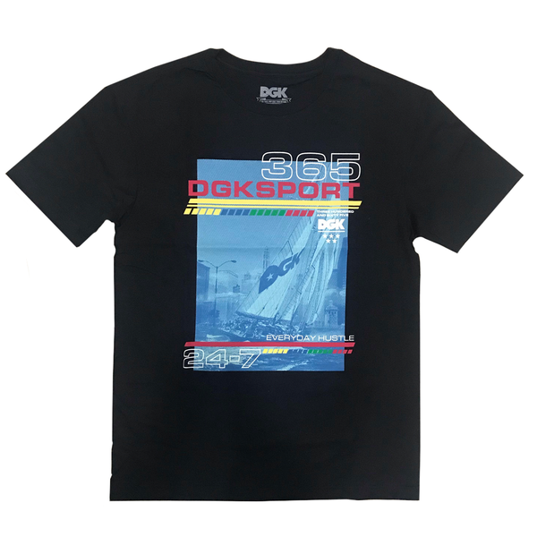 CAMISETA DGK SEASCAPE BLACK