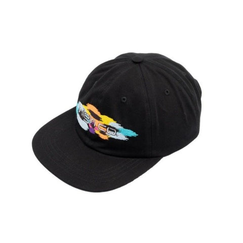 BONÉ HIGH 6 PANEL FLOW BLACK