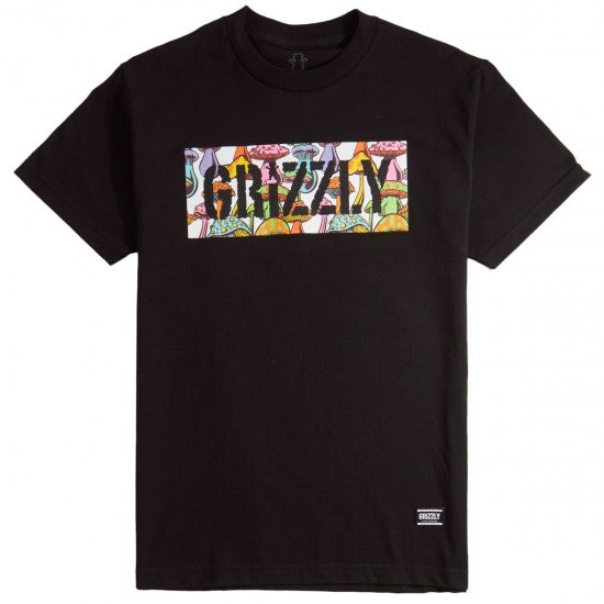 CAMISETA GRIZZLY FUNGI BOX BLACK