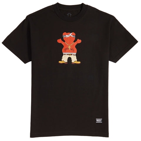 Camiseta Grizzly Thug Bear - Preto
