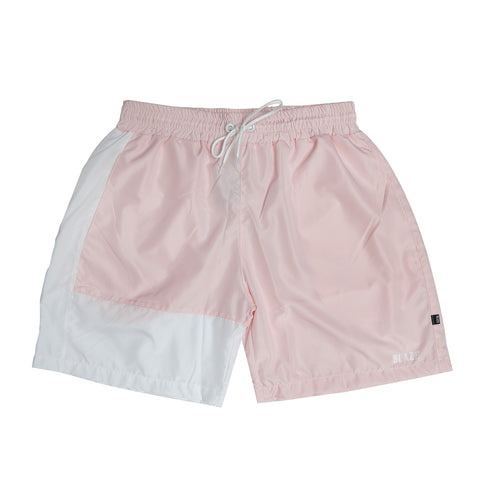 SHORTS BLAZE PIPE PINK WHITE