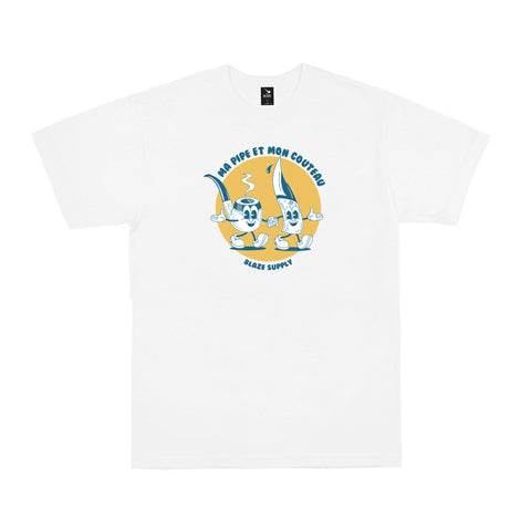 CAMISETA BLAZE MA PIPE WHITE