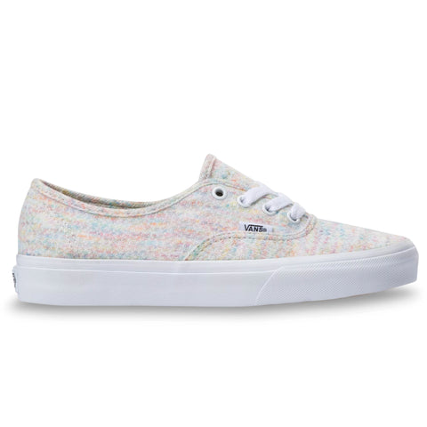 TÊNIS VANS AUTHENTIC RAINBOW JERSEY MULTI/TRUE WHITE