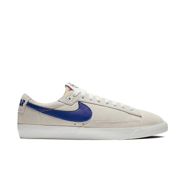 Tênis Nike SB x Polar Skate Co. Blazer Low GT - Summit White / Deep Royal Blue