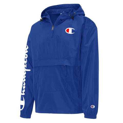 JAQUETA CHAMPION ANORAK PACKABLE SILK ROYAL