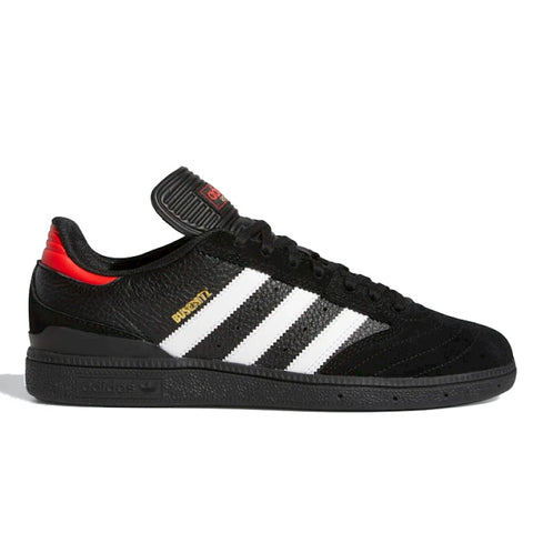 TÊNIS ADIDAS BUSENITZ - BLACK/WHITE/RED