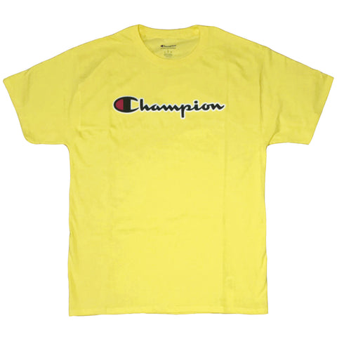 CAMISETA CHAMPION PATCH LOGO AMARELO JOURNEY