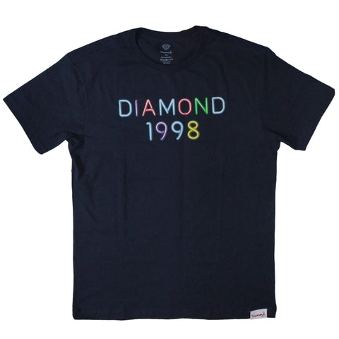 CAMISETA DIAMOND RADIANT NEON NAVY