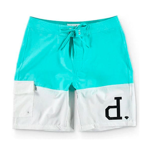 Shorts Diamond Un Polo - Azul/Branco