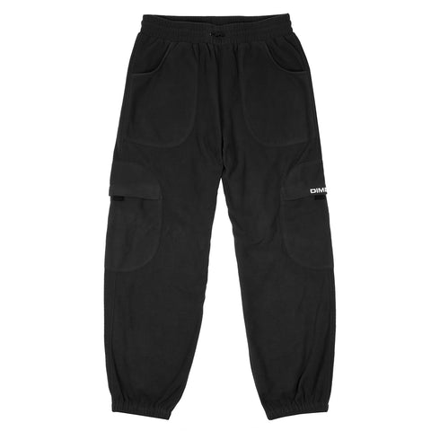CALÇA DIME FLEECE ROUND CARGO BLACK