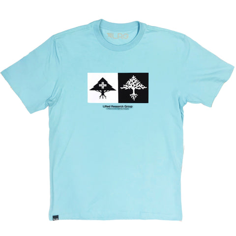 CAMISETA LRG DOUBLE BABY BLUE