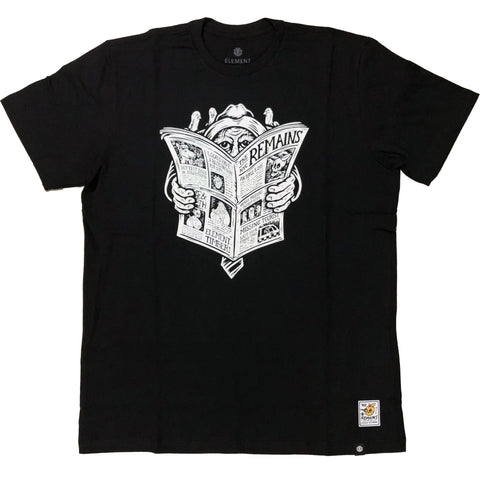CAMISETA ELEMENT NEWS MAN PRETO