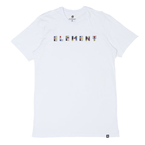 CAMISETA ELEMENT METZ BRANCO