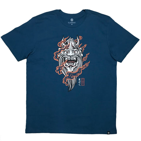 CAMISETA ELEMENT DEMON KEPPERS PETROLEO