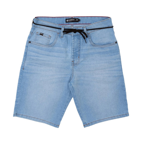 BERMUDA ELEMENT JEANS ESSENTIALS AZUL CLARO