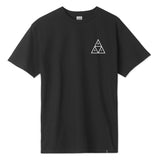 CAMISETA HUF TRIPLE TRIANGLE - BLACK