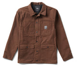 Jaqueta Vans Drill Chore Coat Lined Ave - Brown
