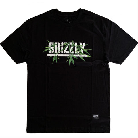 CAMISETA GRIZZLY SEEDS BLACK