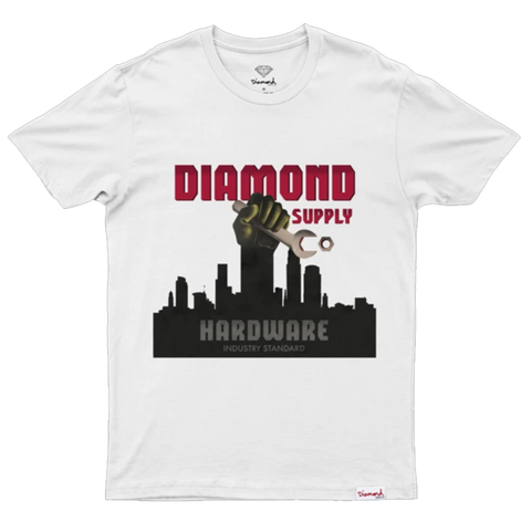 CAMISETA DIAMOND INDUSTRIALISM BRANCA