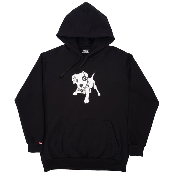 MOLETOM HIGH MUTT BLACK