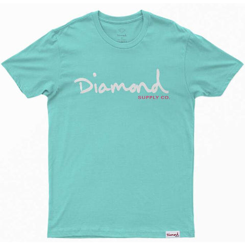 CAMISETA DIAMOND OG SCRIPT DIAMOND BLUE