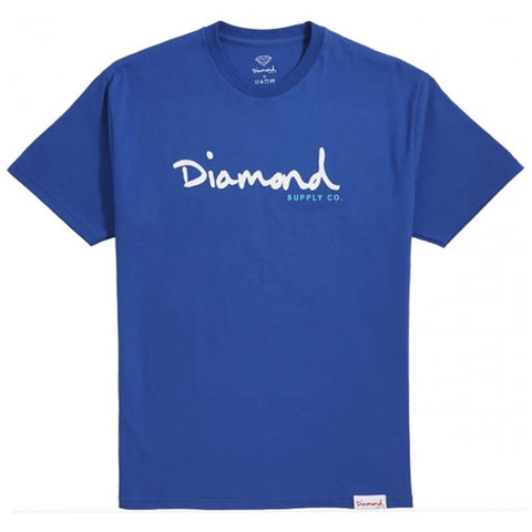 CAMISETA DIAMOND OG SCRIPT ROYAL