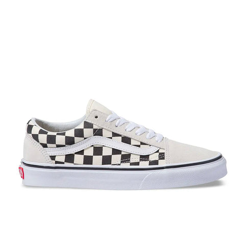 Tênis Vans Old Skool Checkerboard - Black / White