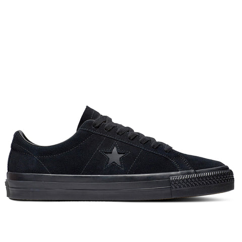 TÊNIS CONVERSE ONE STAR PRO OX - BLACK/BLACK