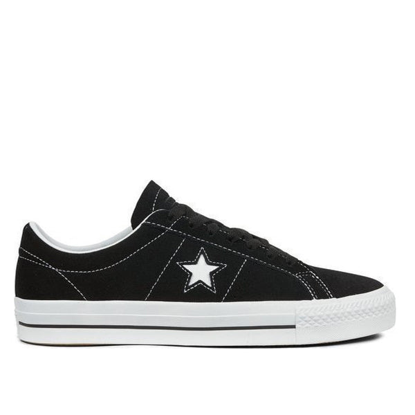 TÊNIS CONVERSE ONE STAR PRO OX - BLACK/WHITE