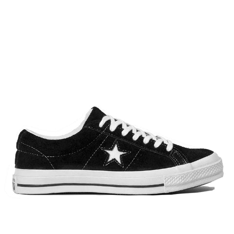 TÊNIS CONVERSE ONE STAR BLACK/WHITE